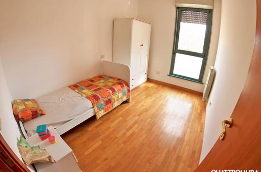 Seconda camera con letto singolo