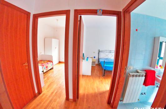Panoramica 2 camere, bagno e ripostiglio