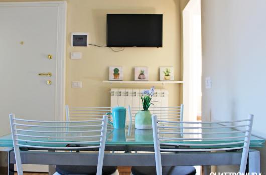 Accogliente e luminoso soggiorno